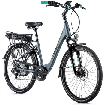 26 Zoll Alu  LEADER FOX Lotus Lady E Bike Damen City...