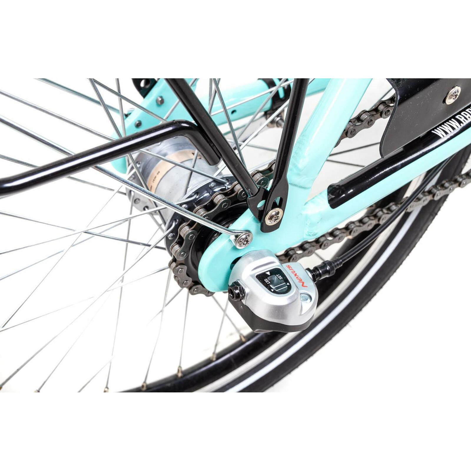 20 Zoll Alu Klapp Fahrrad Faltrad Shimano 3 Gang Nabendynamo Schwalbe Ballon Reifen Mint